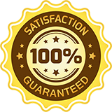 satifaction guaranteed